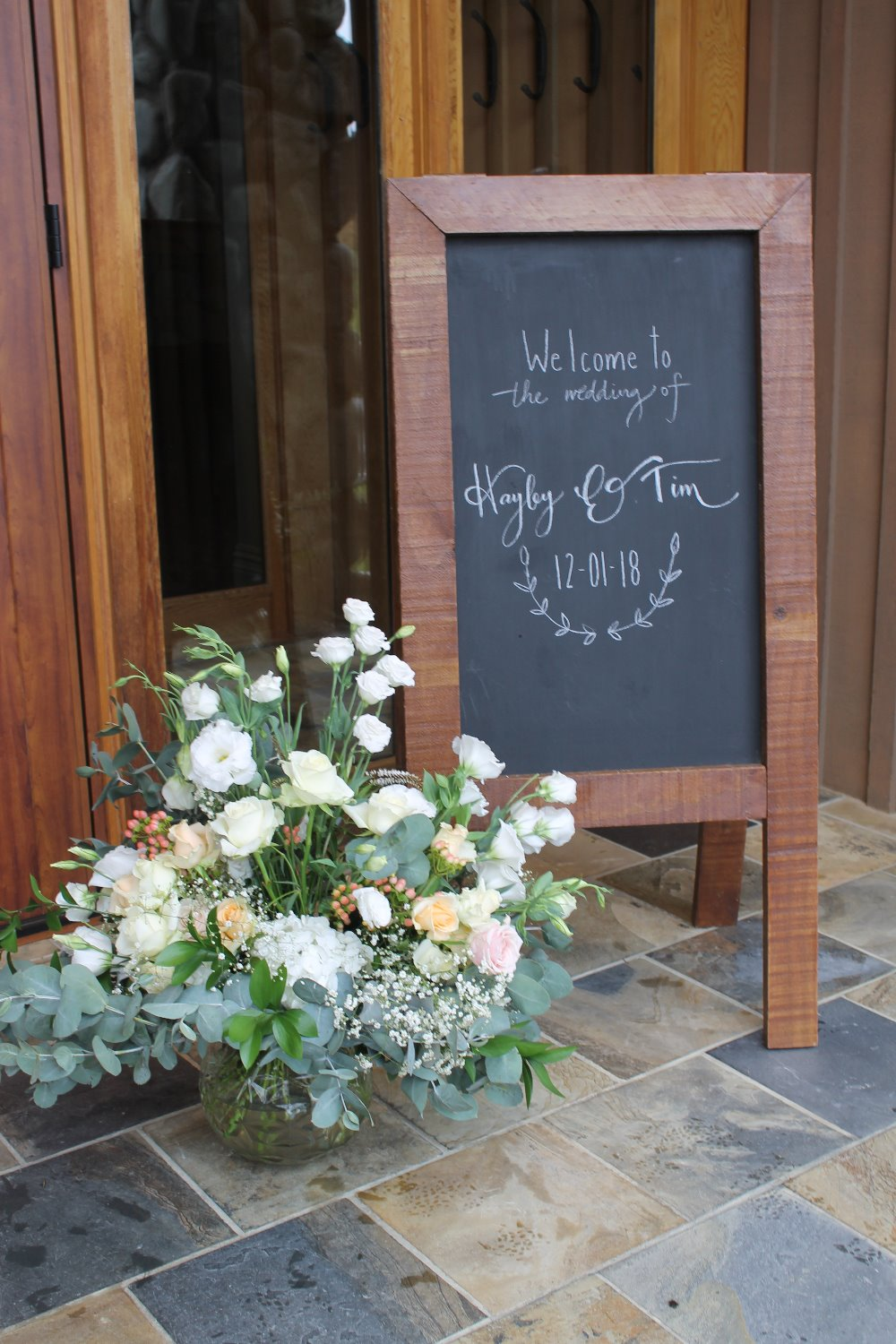 Terrace Downs Wedding Signs