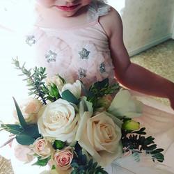 petite cream bouquet