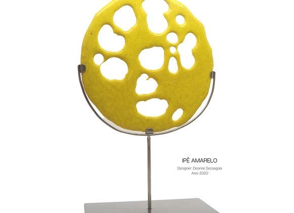 Ipê Amarelo - Escultura em vidro e aço
