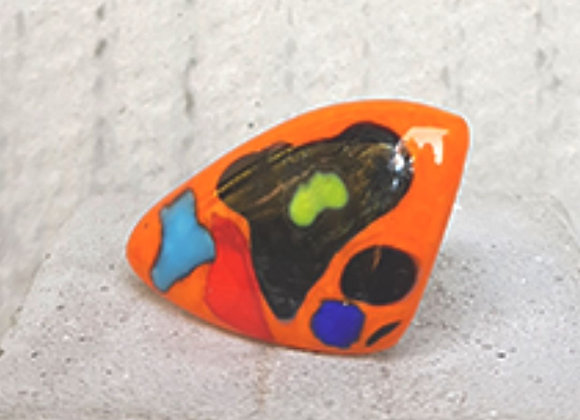 Anel Coleção Miró em Vidros Coloridos
