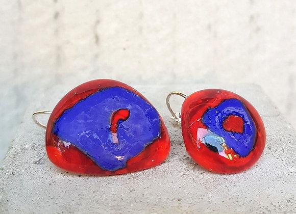 Brincos em Vidro da Coleção Miró