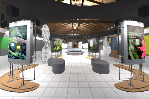 PROJETO DO CENTRO EXPOSITIVO Reserva Biológica União - Criação e Comunicação do Centro Expositivo