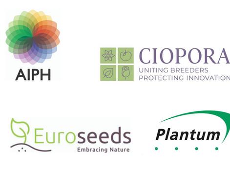 CIOPORA, AIPH, Euroseeds and Plantum Request Revision of the Council Regulation (EC) No 2100/94