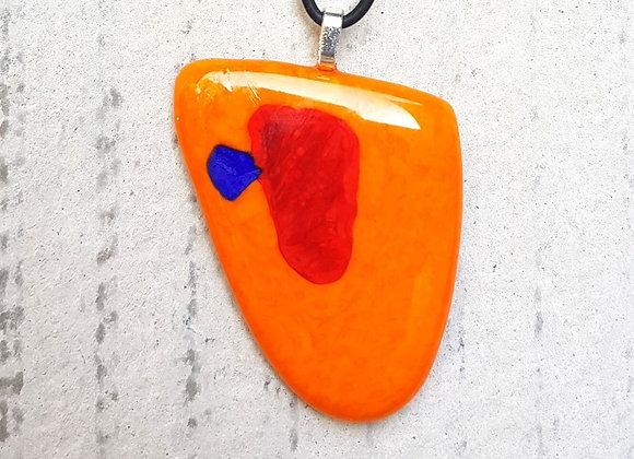 Pingente inspirado na obra de Joan Miró
