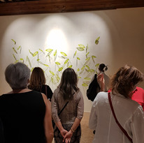 1709 pessoas visitaram a mostra no Palazzo Querini  de 9 a 16 de setembro.
