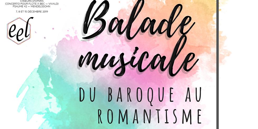 Balade musicale du baroque au romantisme (La Garnache)