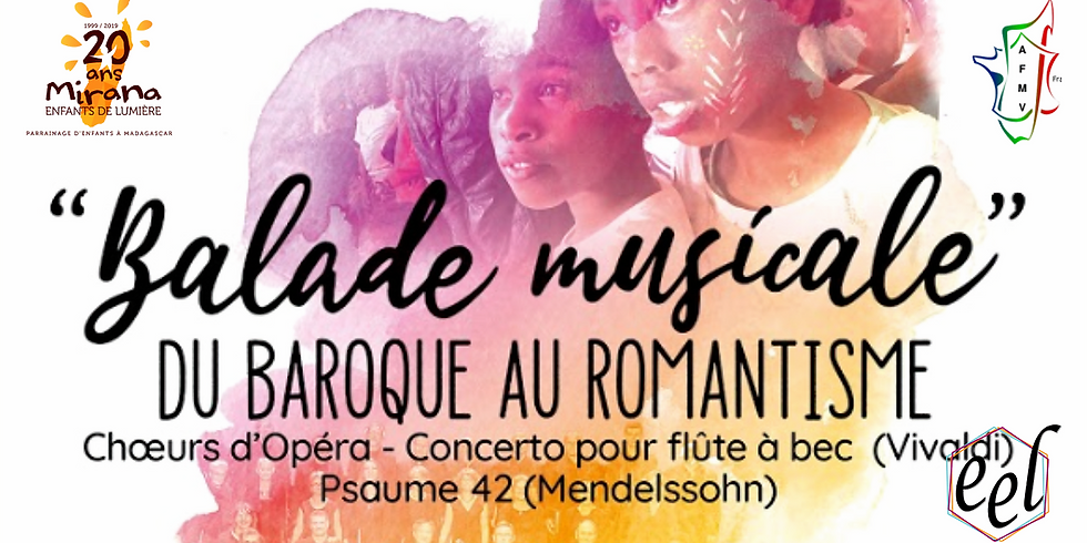 Concert solidaire - Balade musicale du baroque au romantisme (La Roche-sur-Yon)