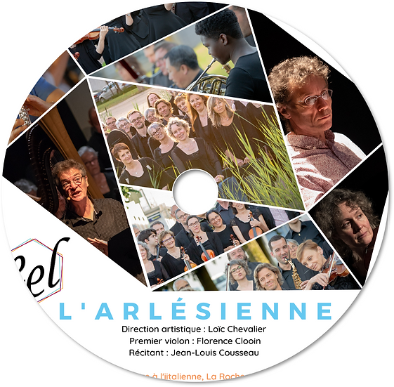 L'Arlésienne (Bizet) CD & DVD