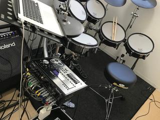 V-Drumsを使ったレコーディング