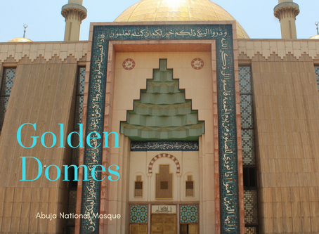 Golden Domes | Abuja National Mosque