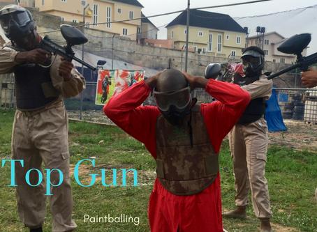 Top Gun   Paintballing