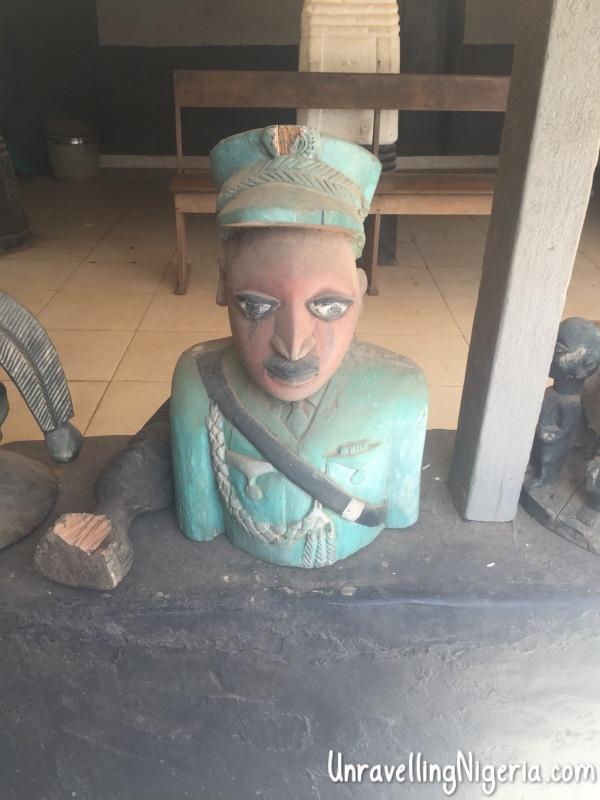 Bust of Brigadier General Oluwole Rotimi