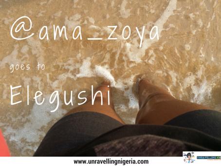@ama_zoya goes to elegushi