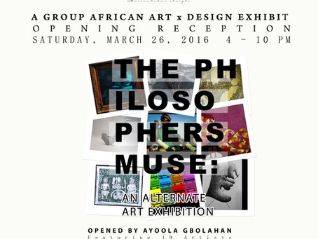 """The Philosopher's Muse: An Alternate Art Exhibition"""