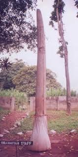 Oranmiyan Staff in Ife - Osun state