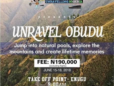 Unravel Obudu | June 15 – 18
