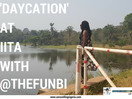 'Daycation' at IITA with @theFunbi