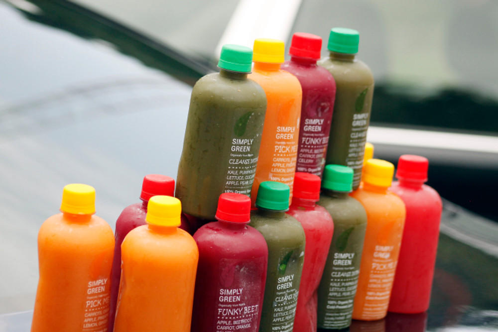 Simply Green Juices