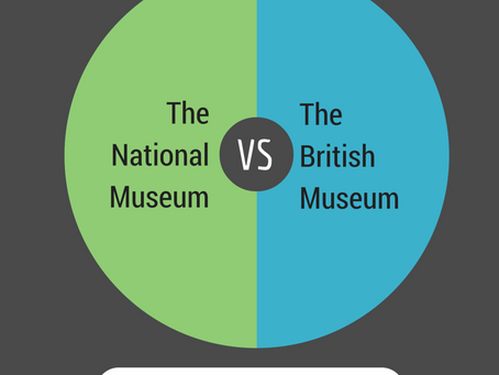 Compare & Contrast – The National Museum vs The British Museum