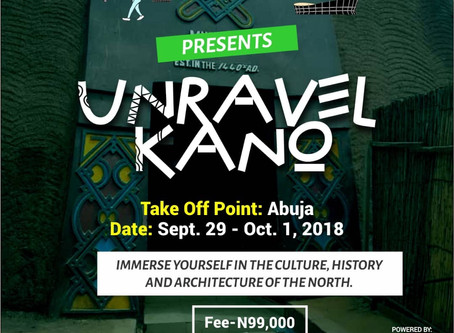Unravel Kano | Sep 29 – Oct 1