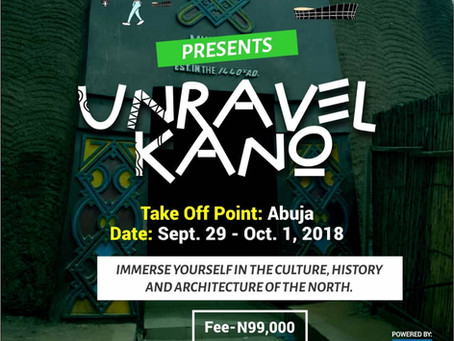 Unravel Kano   Sep 29 – Oct 1