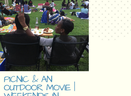 Picnic and an outdoor movie   Weekends in Lagos