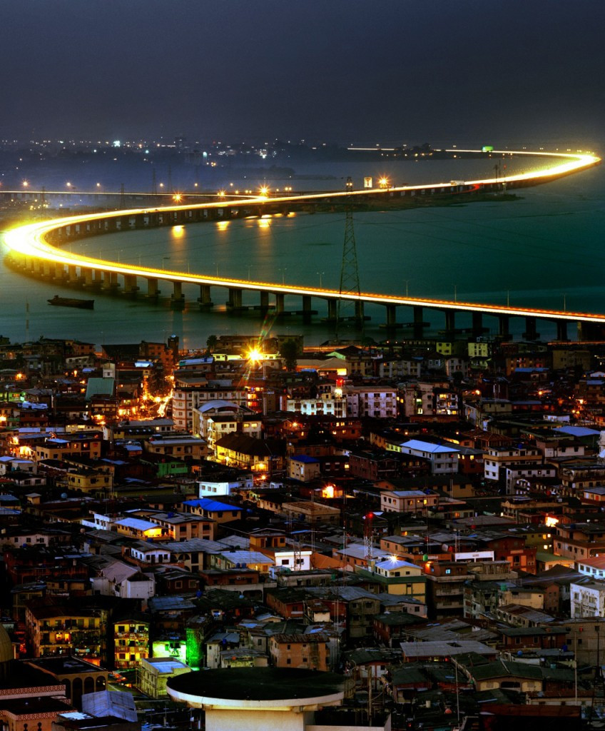 Third mainland Bridge taken early in the morning by Hans Wilschut