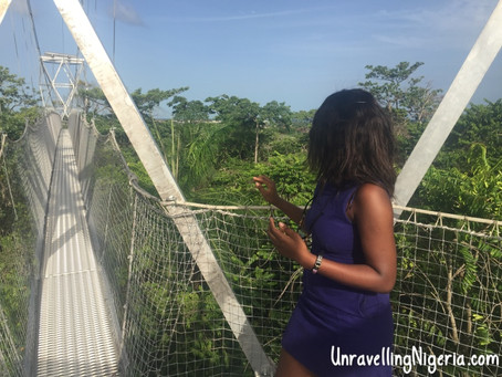 A Canopy Walk and Giant Chess Pieces