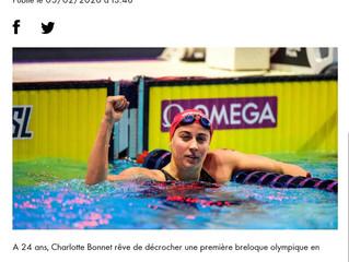 Golden tour Camille Muffat 2020 à Nice