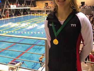 Médaille d'or au 1er jour du meeting internationale de Gyor en Hongrie