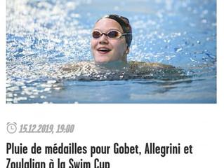 Retour sur la Swim Cup dans le journal LA CÔTE