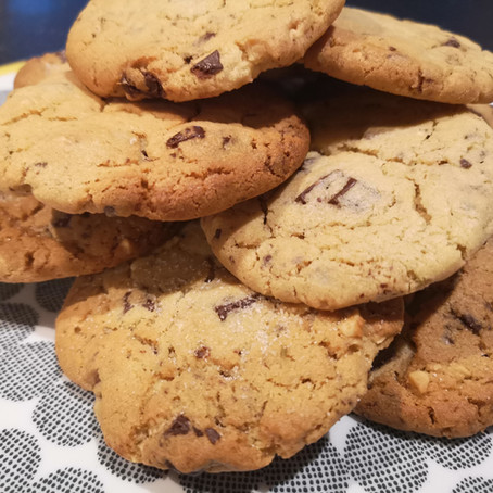 Peanut Butter, Chocolate and Fennel Cookies