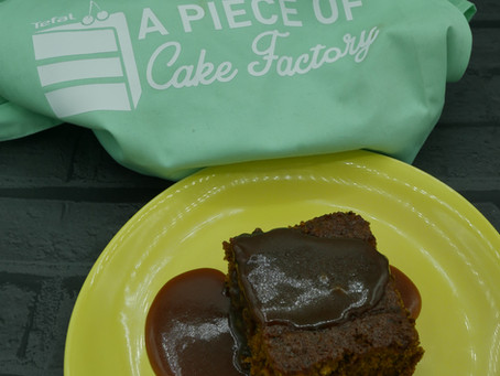 Sticky Toffee Pudding with the Tefal Cake Factory