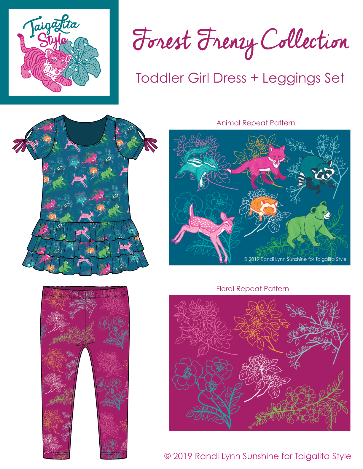 TSForestFrenzyToddlerGirlApparel