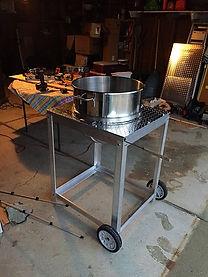 Homemade Kettle Corn Machine