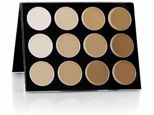 Celebré Pro-HD™ Cream Contour & Highlight Palette (12 Colors)