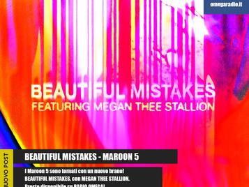 BEAUTIFUL MISTAKES - MAROON 5