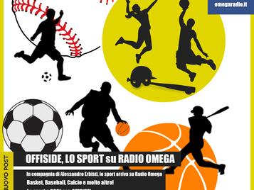 OFFSIDE, Lo sport su Radio Omega!