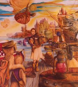 Fiddler on the Dock Poster