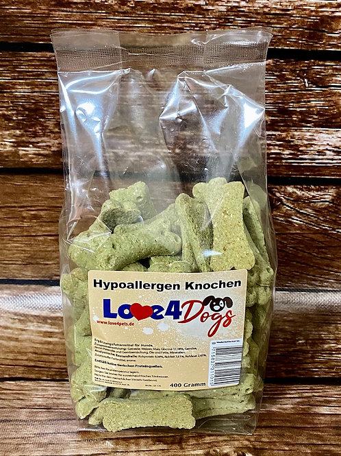 Love4Dogs - Hypoallergen Knochen