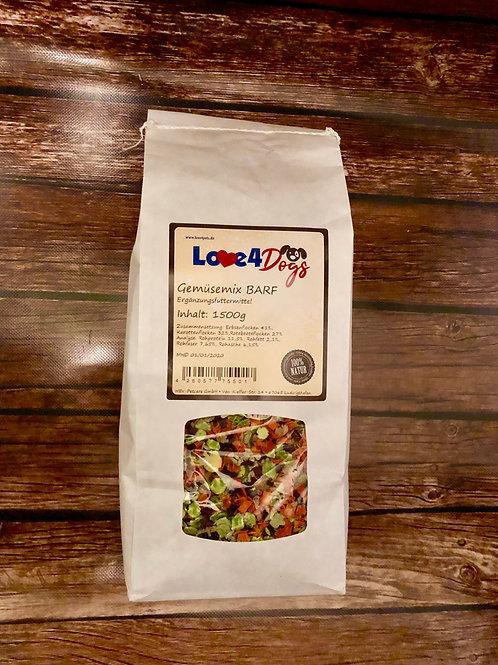 Love4Dogs - Gemüsemix B.A.R.F. 750g und 1,5kg