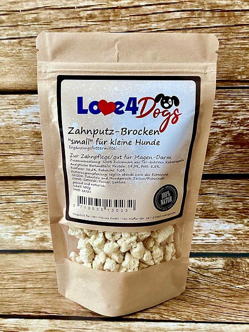 """Love4Dogs -  Kokos -Brocken """"small"""" für kleine Hunde 100g"""