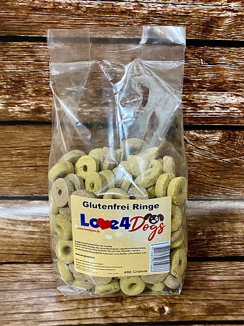 Love4Dogs - Glutenfrei Ringe
