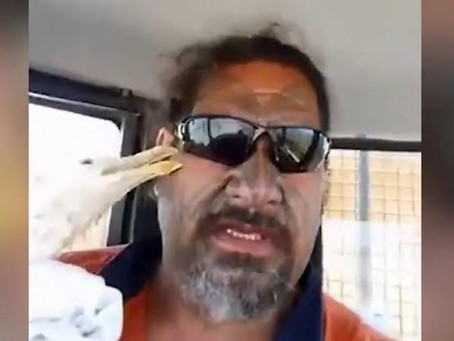 Man Rescues Seagull - Gets more than he bargained for