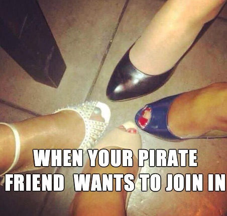 Table Leg Pirate Meme