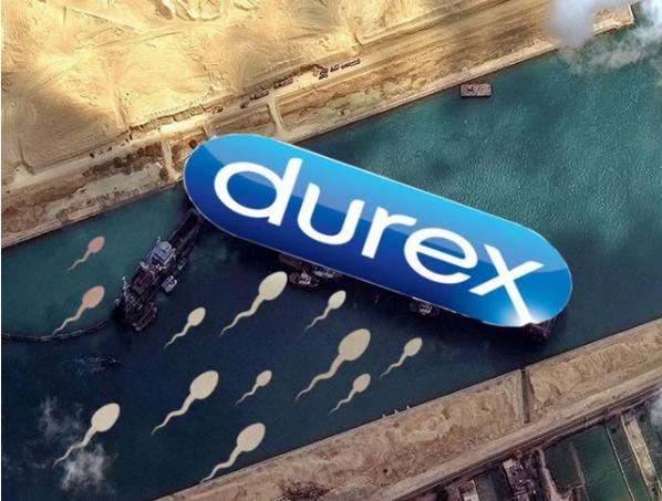 Suez Canal Durex Meme