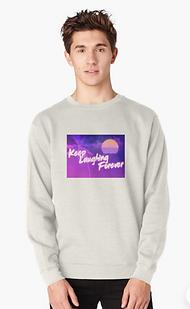 Keewp Laughing Forever 80s Sweatshirt