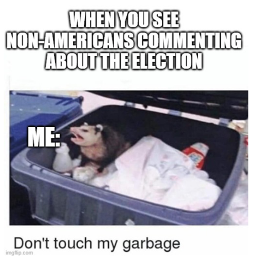 Election 2020 Garbage Meme
