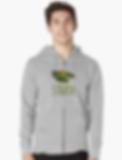 Thongs Zipup hoodie