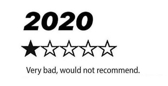 2020 1 star joke